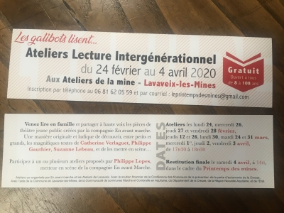 ATELIER DE LECTURE INTERGÉNÉRATIONNEL